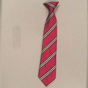 Boys (little kids) clip on neck tie